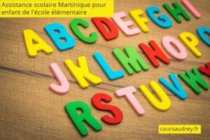 assistance scolaire Martinique école élémentaire