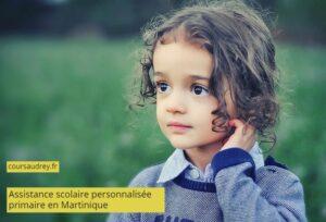 assistance scolaire personnalisée Martinique