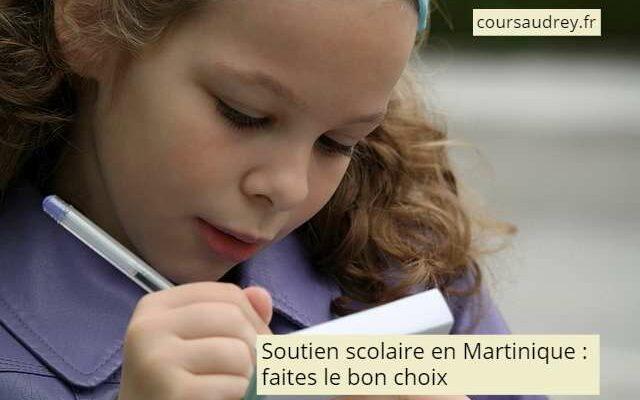soutien scolaire en Martinique faites le bon choix