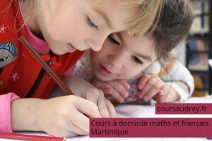 cours à domicile maths français martinique