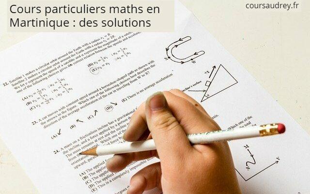 cours particuliers maths en martinique solutions